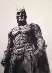 The Dark Knight by NateMullet
