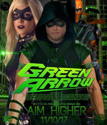 GREEN ARROW  by Redhood2343