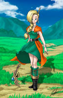 Dragon Quest V - Bianca by neoyurin