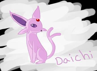 Daichi the espeon by YoshiGal4Ever