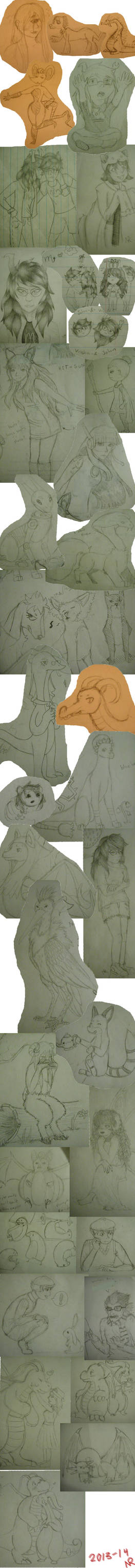 SketchDump 1 by YoshiGal4Ever