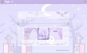 F2U Ghost page code !! by BleachedLemon