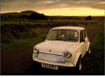 Cream mini, Slemish + a sunset by younghappy