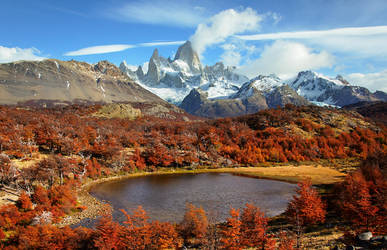 Monte Fitz Roy, Patagonia, Argentina by younghappy