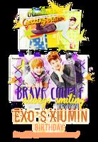[Signature] EXO's Xiumin Birthday by jangkarin