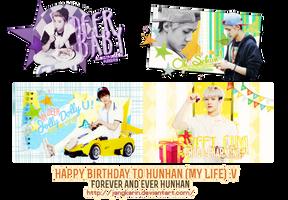 [Signature] EXO's Sehun and Luhan Birthday by jangkarin