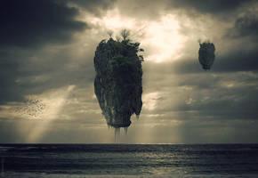 Floating .. by pareeerica