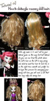 How to detangle messy hair by AlyssaRPhotography