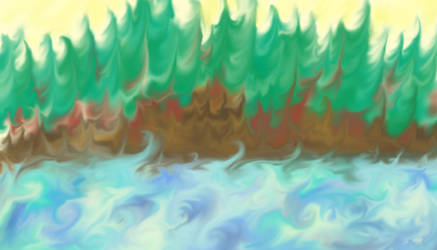 Abstracts: Forest Lake by TheSisters2