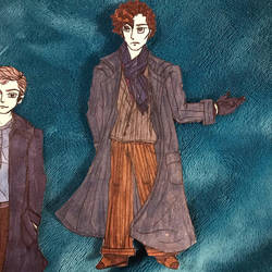Sherlock Holmes paper doll by TheSisters2