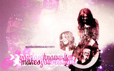 +MakesYouBeautiful Wallpaper by DiaaniThaawEditions