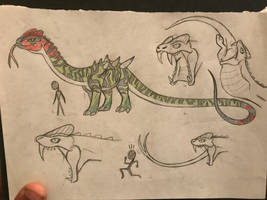 Torvogorgonodon design sheet (Updated) by Rexander134