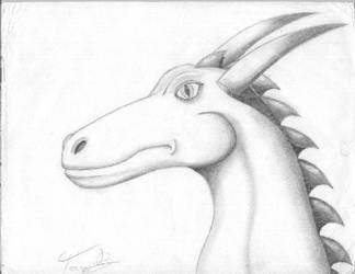 head by TheDraconicOne