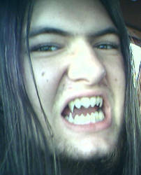 My draconian teeth. by TheDraconicOne