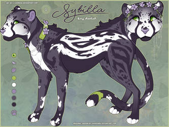 OC AUCTION: Sybilla the King Cheetah by c-Chimera