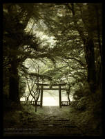Trailhead Tori - Nogata, Japan by AndrewMarston