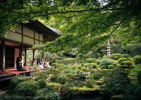 Sanzenin Garden in Kyoto by AndrewMarston