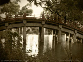 Crossing into Tenmangu Shrine by AndrewMarston