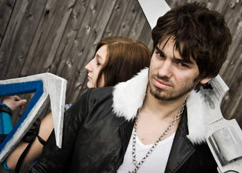 FFVIII Squall and Rinoa Cosplay at AniMaine 2011 by AndrewMarston