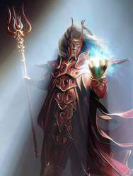 Blood elf by ZivCG