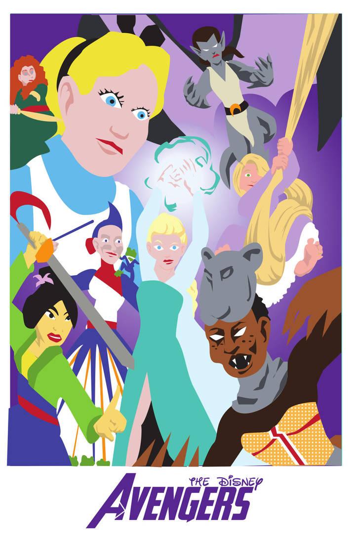 PrincessAvengers by NILgravity