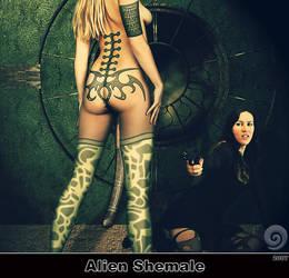 Alien Shemale by Trash63