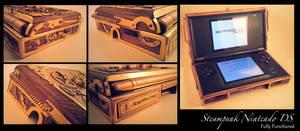 Steampunk Nintedo DS 1 by Absynthe Design by azazel-is-burning