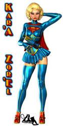 Supergirl Pinuppery 1 by Idelacio