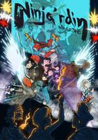 Ninja'rdin Mag Cover by Chris-Yop-Lannes