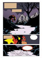 Hellbiceps PAGE 1 wip by Chris-Yop-Lannes
