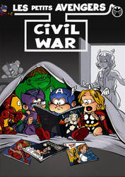 Petits Avengers Cover by Chris-Yop-Lannes