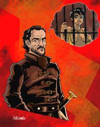 Bronn - Ser of the Blackwater by Chris-Yop-Lannes