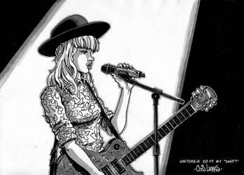 Inktober 2017 _ Day 1 : Swift by Chris-Yop-Lannes