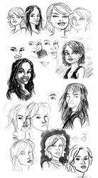 Sunday Doodles - Hollywood Edition by Chris-Yop-Lannes