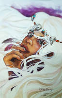 Tribal Girl by Jickleberry