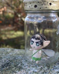 Fairy in a bottle by Isadorrah