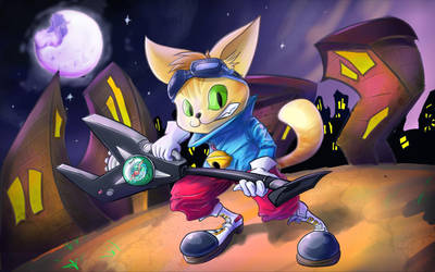 Blinx by quike-D