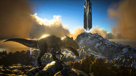 ARK: Survival Evolved - Gigantosaurus Furiosa by DjayMasi