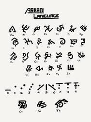 Ark Survival Evolved - Arkan Language Guide by DjayMasi