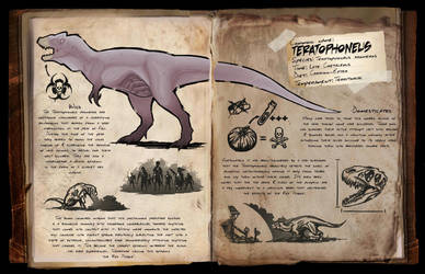 Teratophoneus Dossier [FANMADE] by DjayMasi