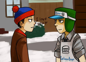 Stan and Kyle by ErDead