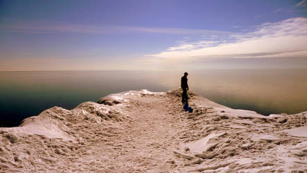 On the Edge of Superior by DuderThe1st