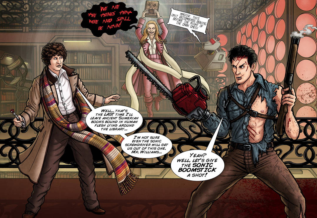 Doctor Who and The Evil Dead