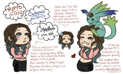 Q/A - What's your fave monster? by pandalamaa
