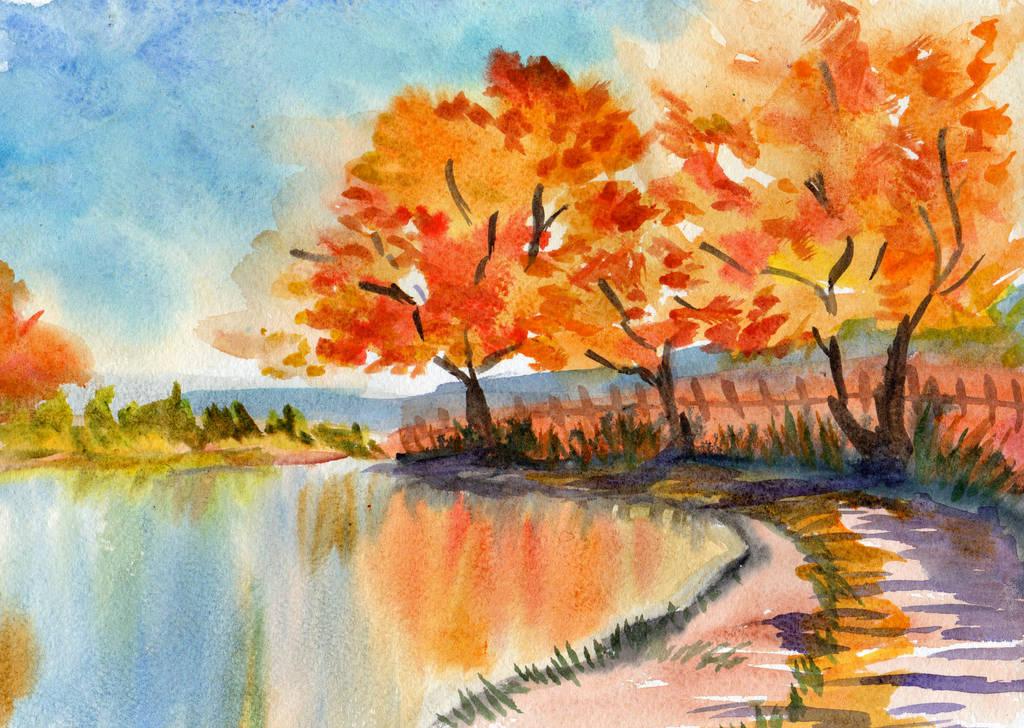 89- Gold trees by Rikkimaru129