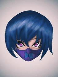 Mask Girl Anime by GasaiYuki