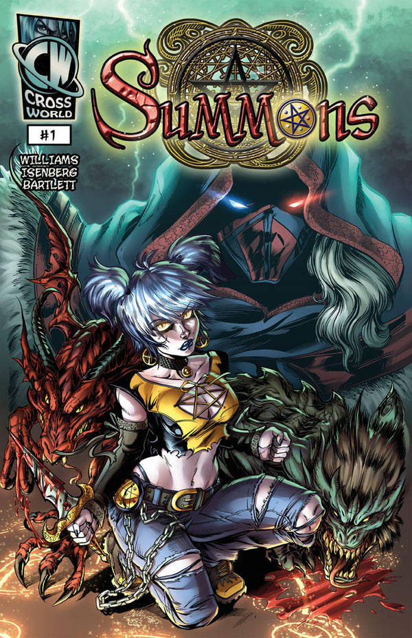 Summons #1 Reloaded w/title by CdubbArt