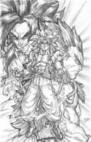 Gogeta fusion by CdubbArt