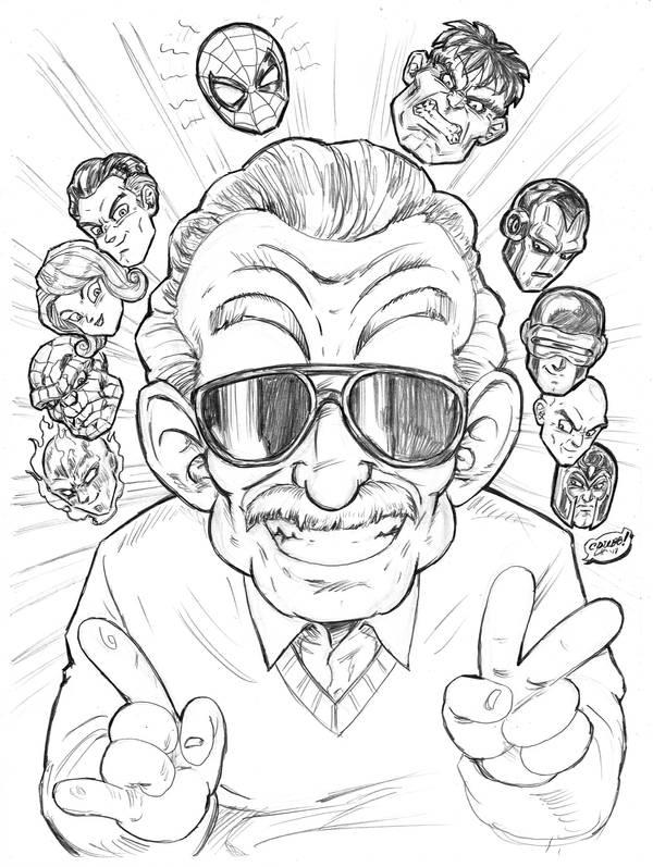 RIP Master Lee by CdubbArt