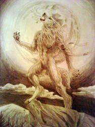 Werewolf Moon by PeiTao
